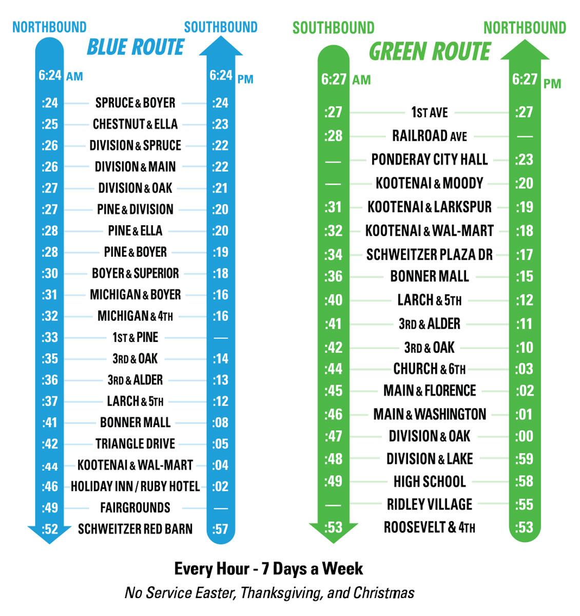 SPOT Bus Timetables